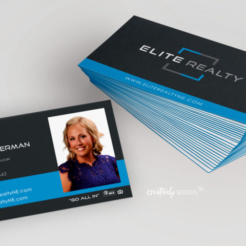 Elite Realty Business Cards-Trifecta Layer-Velvet Finish