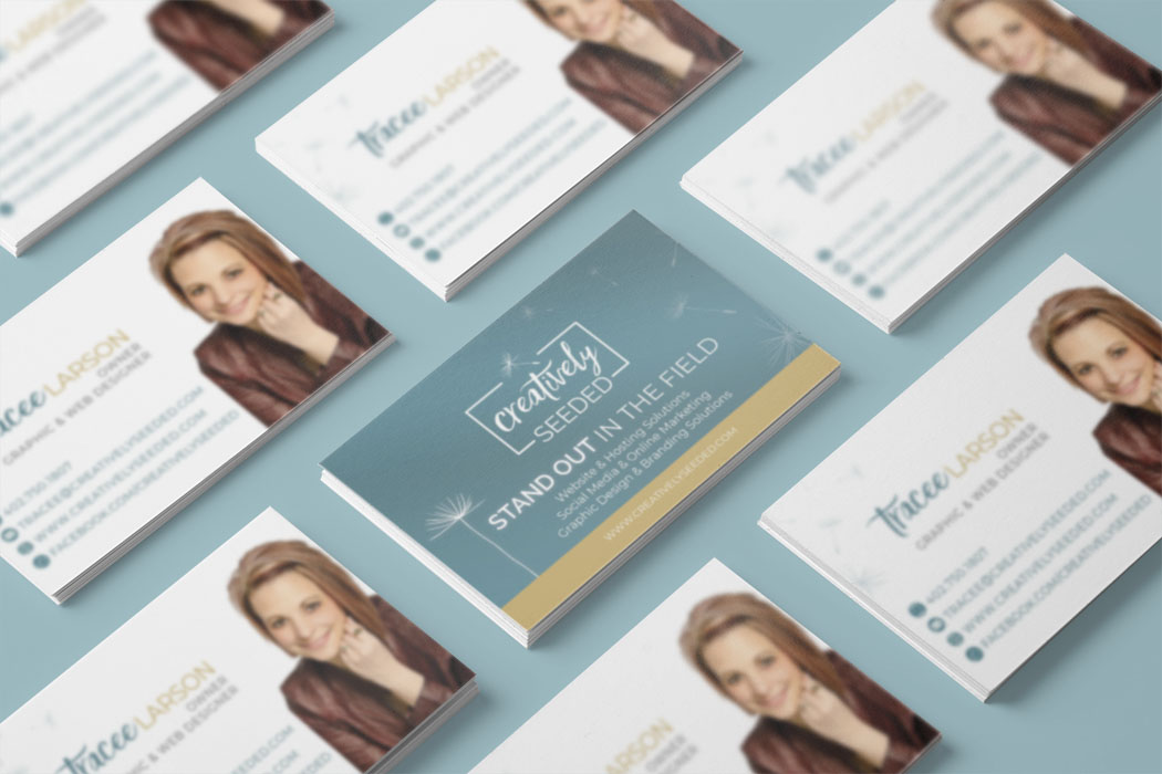 creatively seeded business cards