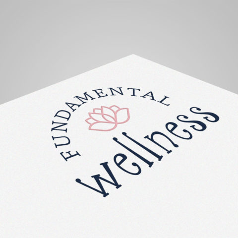 Jenna Witt Fundamental Wellness Health Coach Norfolk NE Logo Designer Creatively Seeded