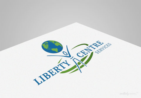 Liberty Services Centre Norfolk NE Logo Brand Creatively Seeded