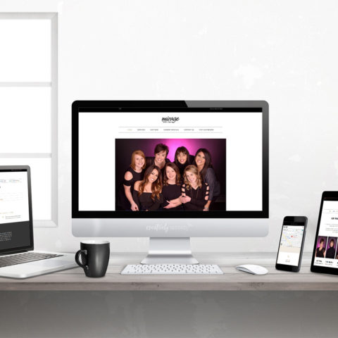 Mirage Salon & Spa best beauty salon in Norfolk NE Creatively Seeded Responsive Website